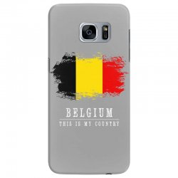 This is my country - Belgium Samsung Galaxy S7 Edge Case | Artistshot