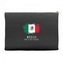 This is my country - Mexico Accessory Pouches   Artistshot