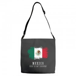 This is my country - Mexico Adjustable Strap Totes   Artistshot