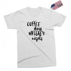Coffee days, whiskey nights Exclusive T-shirt | Artistshot