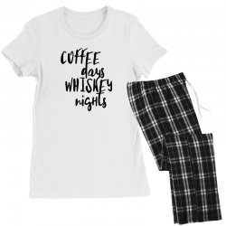 Coffee days, whiskey nights Women's Pajamas Set | Artistshot