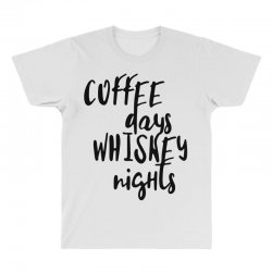 Coffee days, whiskey nights All Over Men's T-shirt | Artistshot