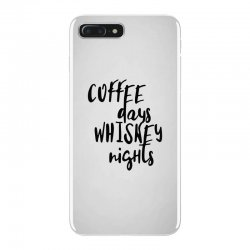 Coffee days, whiskey nights iPhone 7 Plus Case | Artistshot