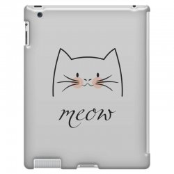 Meow iPad 3 and 4 Case | Artistshot
