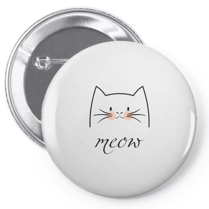 Meow Pin-back Button | Artistshot