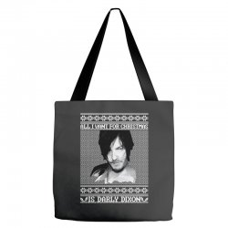 daryl dixon christmas ugly for red Tote Bags | Artistshot
