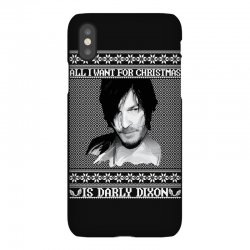 daryl dixon christmas ugly for red iPhoneX | Artistshot