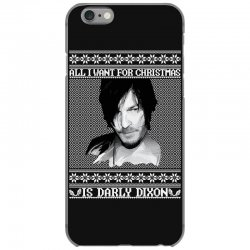 daryl dixon christmas ugly for red iPhone 6/6s Case | Artistshot