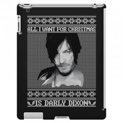 daryl dixon christmas ugly for red iPad 3 and 4 Case | Artistshot