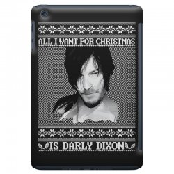 daryl dixon christmas ugly for red iPad Mini Case | Artistshot