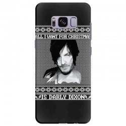 daryl dixon christmas ugly for red Samsung Galaxy S8 Plus | Artistshot