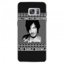 daryl dixon christmas ugly for red Samsung Galaxy S7 | Artistshot