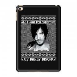 daryl dixon christmas ugly for red iPad Mini 4 Case | Artistshot