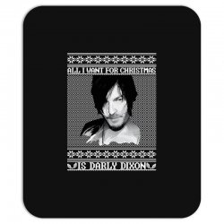 daryl dixon christmas ugly for red Mousepad | Artistshot