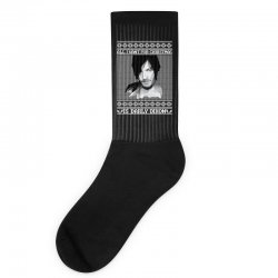 daryl dixon christmas ugly for red Socks | Artistshot