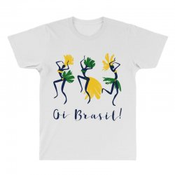 Oi Brasil All Over Men's T-shirt | Artistshot
