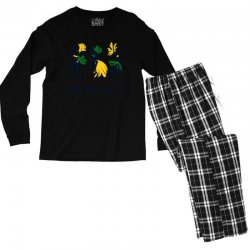 Oi Brasil Men's Long Sleeve Pajama Set | Artistshot