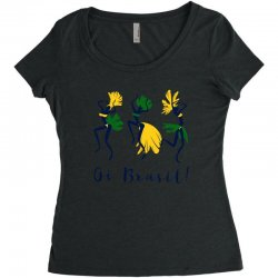 Oi Brasil Women's Triblend Scoop T-shirt | Artistshot