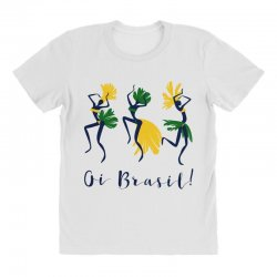 Oi Brasil All Over Women's T-shirt | Artistshot