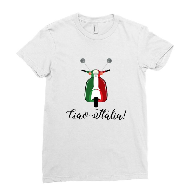 Ciao Italia Ladies Fitted T-shirt | Artistshot