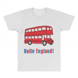 hello England All Over Men's T-shirt | Artistshot