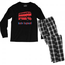 hello England Men's Long Sleeve Pajama Set | Artistshot