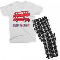 hello England Men's T-shirt Pajama Set | Artistshot