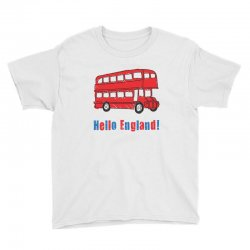 hello England Youth Tee | Artistshot