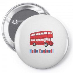hello England Pin-back button | Artistshot