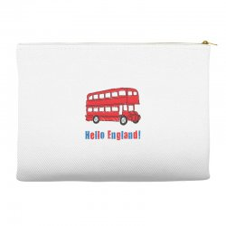 hello England Accessory Pouches | Artistshot