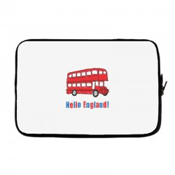 hello England Laptop sleeve | Artistshot