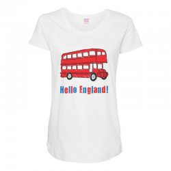 hello England Maternity Scoop Neck T-shirt | Artistshot