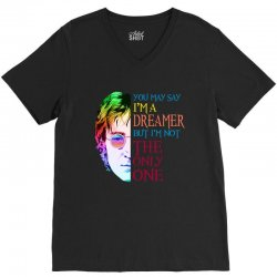 you may say i'm a dreamer V-Neck Tee | Artistshot