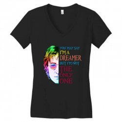 you may say i'm a dreamer Women's V-Neck T-Shirt | Artistshot