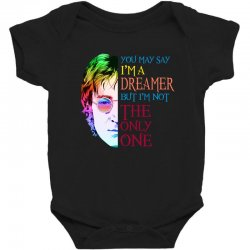 you may say i'm a dreamer Baby Bodysuit | Artistshot