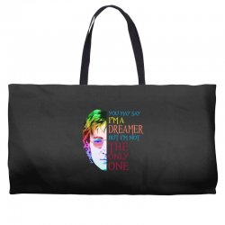 you may say i'm a dreamer Weekender Totes | Artistshot
