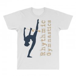 Rhythmic gymnastics - Clubs All Over Men's T-shirt | Artistshot