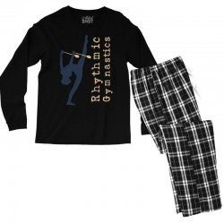 Rhythmic gymnastics - Clubs Men's Long Sleeve Pajama Set | Artistshot