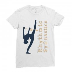 Rhythmic gymnastics - Clubs Ladies Fitted T-Shirt | Artistshot
