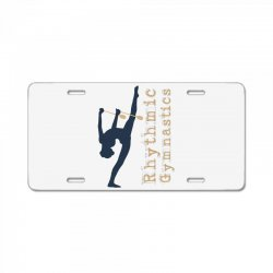 Rhythmic gymnastics - Clubs License Plate | Artistshot