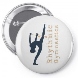 Rhythmic gymnastics - Clubs Pin-back button | Artistshot