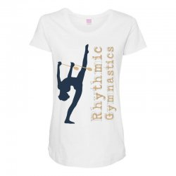 Rhythmic gymnastics - Clubs Maternity Scoop Neck T-shirt | Artistshot