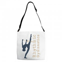 Rhythmic gymnastics - Clubs Adjustable Strap Totes | Artistshot