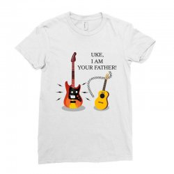 uke, i am your father!. Ladies Fitted T-Shirt | Artistshot