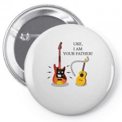 uke, i am your father!. Pin-back button | Artistshot