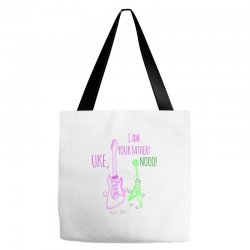 uke, i am your father! Tote Bags | Artistshot