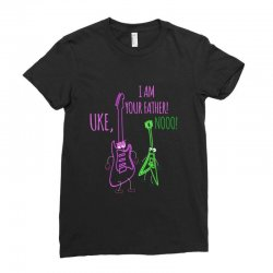 uke, i am your father! Ladies Fitted T-Shirt | Artistshot