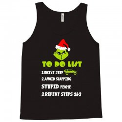 the grinch to do list drive jeep christmas Tank Top   Artistshot