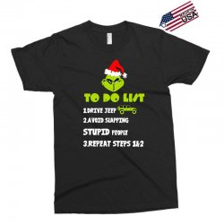 the grinch to do list drive jeep christmas Exclusive T-shirt | Artistshot