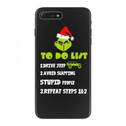 the grinch to do list drive jeep christmas iPhone 7 Plus Case | Artistshot